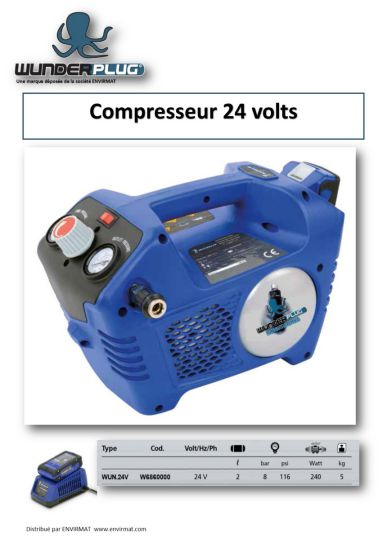 Compresseur 24 volts